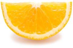 Arancia fresca Immagine Stock Libera da Diritti