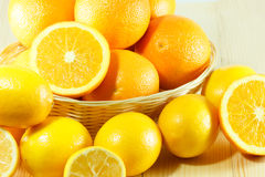 Arancia fresca organica Immagine Stock Libera da Diritti