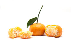 Arancia matura Fotografia Stock