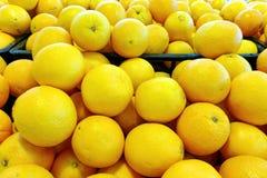Arancia navel, gruppo di Friut Immagini Stock