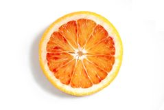 Arancia sanguigna Fotografia Stock