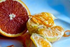 Arancia sanguinella Immagini Stock