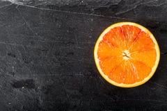 Arancia sanguinella Fotografia Stock Libera da Diritti
