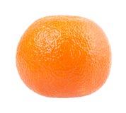 Arancia su fondo bianco Fotografia Stock
