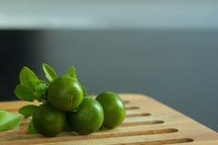 Arancia verde fotografia stock libera da diritti