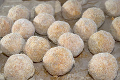 Arancina. Mediterranean appetizers and food:fried arancine Stock Photo