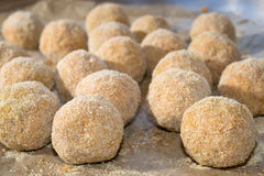 Arancina. Mediterranean appetizers and food:fried arancine Royalty Free Stock Photo