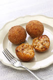 Arancini di riso, italian risotto rice balls Royalty Free Stock Photography