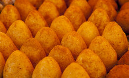 Arancini, italian appetizer. Picture from near Royalty Free Stock Photography
