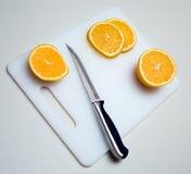 Arancio affettato Fotografia Stock Libera da Diritti