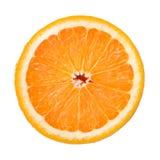 Arancio al gusto di frutta Fotografia Stock Libera da Diritti