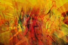 Arancio astratto Fotografia Stock