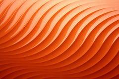 Arancio astratto della priorità bassa Fotografia Stock