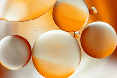 Arancio astratto della priorità bassa Immagine Stock Libera da Diritti
