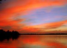 Arancio del lago Fotografia Stock Libera da Diritti