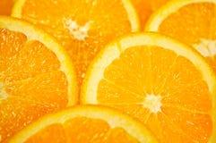 Arancio della fetta Immagine Stock