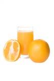 Arancio della spremuta Immagini Stock Libere da Diritti