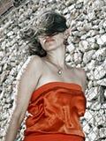 Arancio di agente fotografie stock libere da diritti
