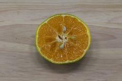 Arancio di Cutted Fotografia Stock Libera da Diritti