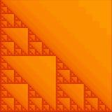 Arancio di frattalo Illustrazione di Stock
