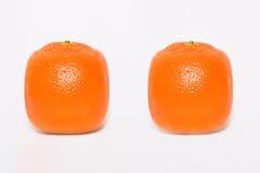 Arancio due Fotografia Stock Libera da Diritti