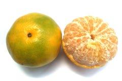 Arancio due Immagini Stock