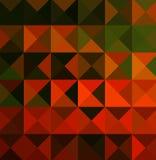 Arancio e disegni di verde Fotografie Stock Libere da Diritti