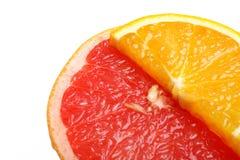 Arancio e pompelmo Fotografie Stock Libere da Diritti
