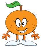 Arancio felice Immagine Stock Libera da Diritti