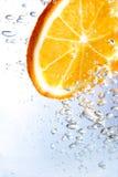 Arancio Fizzy Immagine Stock Libera da Diritti