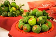 Arancio fortunato Immagine Stock