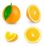 Arancio fresco Immagine Stock Libera da Diritti
