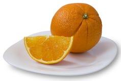 Arancio fresco Fotografia Stock Libera da Diritti