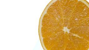 Arancio fresco Immagini Stock Libere da Diritti