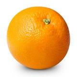 Arancio isolato fotografie stock libere da diritti