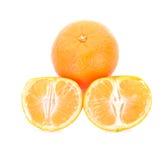 Arancio isolato Immagine Stock Libera da Diritti