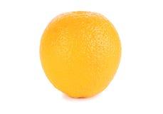 Arancio isolato su bianco Immagini Stock Libere da Diritti