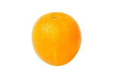 Arancio isolato su bianco Fotografia Stock