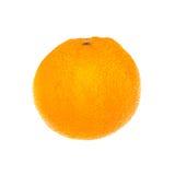 Arancio isolato su priorità bassa bianca frutta Immagine Stock Libera da Diritti