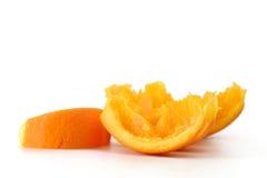 Arancio - macro Fotografia Stock Libera da Diritti