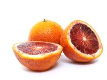 Arancio rosso Fotografia Stock Libera da Diritti
