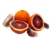Arancio rosso Fotografia Stock