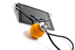 Arancio sano Fotografia Stock Libera da Diritti