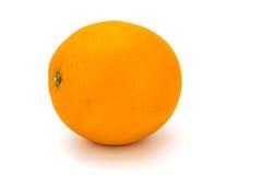 Arancio su bianco Fotografia Stock