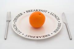 Arancione. Fotografia Stock Libera da Diritti