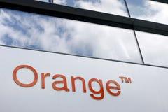 Arancione - France Telecom Fotografia Stock Libera da Diritti