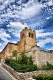 Aranda de Duero, ισπανικός προορισμός Στοκ Φωτογραφία