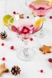 Arando festivo martini imagem de stock