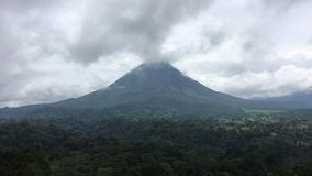 Aranel Volcano Stock Photo