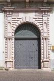 Araneo palace. Melfi. Basilicata. Italy. Royalty Free Stock Photography